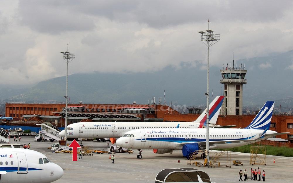 त्रिभुवन अन्तर्राष्ट्रिय विमानस्थलको पूर्वतिर एयरलाइन्सहरुका लागि आवश्यक पर्ने ह्यांगर निर्माण हुने
