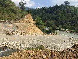 चीन र भारत जोड्ने कालीगण्डकी करिडोर लोकमार्गको ट्र्याक खुल्याे